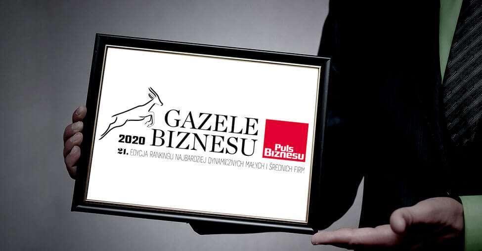 Dyplom Gazele Bizbesu 2020 dla ONE House
